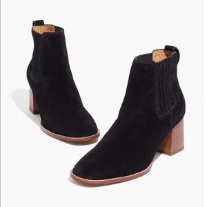 BRAND NEW NEVER WORN. Madewell suede booties